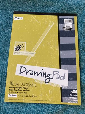 Mead Académie Drawing Pad Heavyweight Paper 24 Sheets for Sale in Ithaca, NY