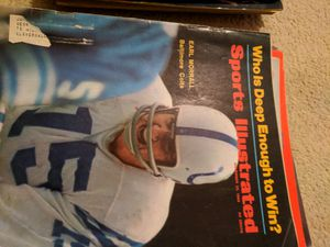 1968 sports illustrated Earl Morrall for Sale in Corinth, ME