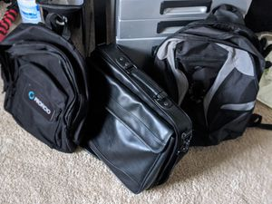 Backpacks and Laptop bag for Sale in Chesterfield, VA