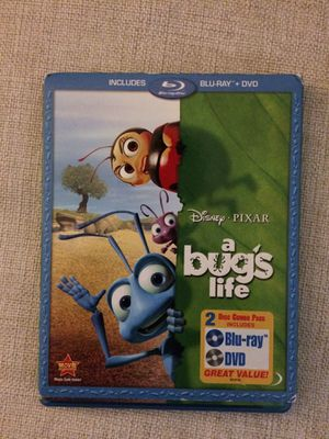 Disney A Bugs life Blu Ray & DVD for Sale in Tampa, FL