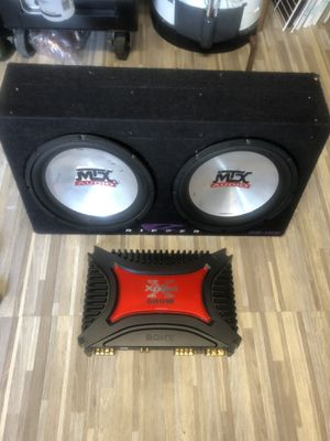 Speaker and amplifier for Sale in Hyattsville, MD