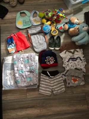 Random Baby/Toddler Clothes Toy LOT for Sale in Perris, CA