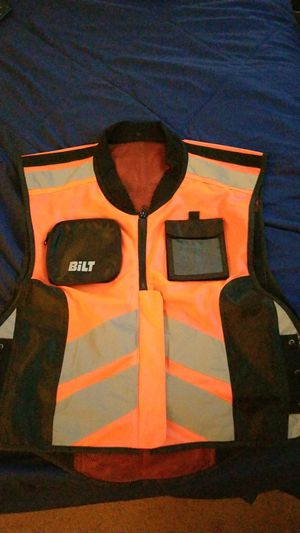 Bilt motorcycle vest for Sale in Elk Grove Village, IL
