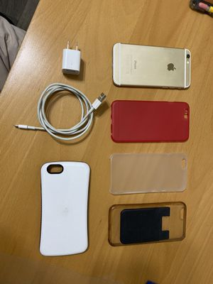 iPhone 6 64gb for sale + cases + original charger for Sale in Lilburn, GA