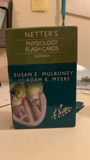 Physiology flash cards for Sale in Huntington Park, CA