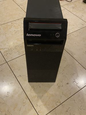 Thinkcentre e73 desktop with monitor and keyboard. for Sale in St. Louis, MO
