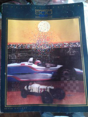 Indy 500 program for Sale in Weston, WV