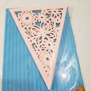 NEW Pink PAPER BUTTERFLY GARLAND KIT DIY Spring Craft Mothers Day Decor for Sale in Queen Creek, AZ