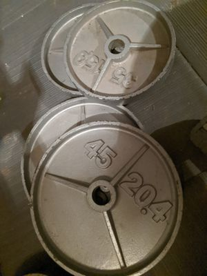Olympic weights for Sale in Fresno, CA