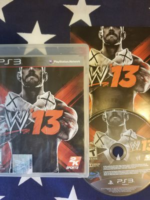 WWE 13 (PS3) for Sale in US