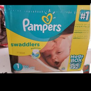 Two boxes of pampers for Sale in Leander, TX