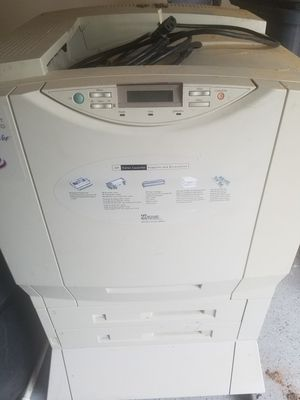 Hp laser color printer for Sale in Sugar Land, TX