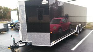 24' Aluminum Vnose Enclosed Trailer for Sale in Brooklyn, NY