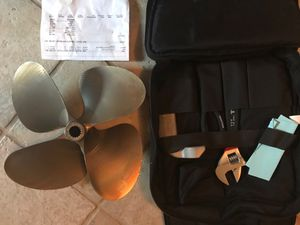 Acme propeller weekend kit saver - 14.75 x 15.50 for Sale in Spring, TX