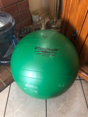 Thera-Band 65 cm Proffesional Exercise Ball for Sale in Temecula, CA