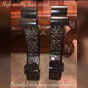 New beautiful high-quality wall candleholders $45 firm pick up or meet for Sale in Laveen Village, AZ