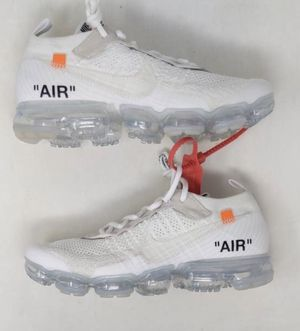 Off White Vapormax size 10 for Sale in Gaithersburg, MD