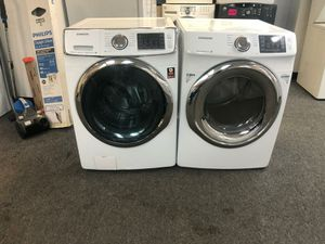 STEAM WASHER AND DRYER ELECTRIC GOOD CONDITION 90 DAYS OF WARANTY SE HABLA ESPAÑOL for Sale in Glen Burnie, MD