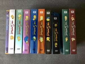 The Simpsons Seasons 1-9 plus a Christmas Special for Sale in Anaheim, CA