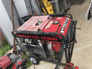13,500 generator for Sale in Austin, TX