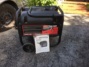 [MUST SEE] Coleman Powermate EXCELLENT CONDITION 6250 WATTS// COMES WITH MANUAL || Runs Perfect But Little More Than Usual Smoke Is Coming (VERY SMAL for Sale in Miami, FL