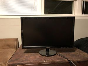 27 inch ASUS monitor/tv with hdmi cord for Sale in Sudbury, MA