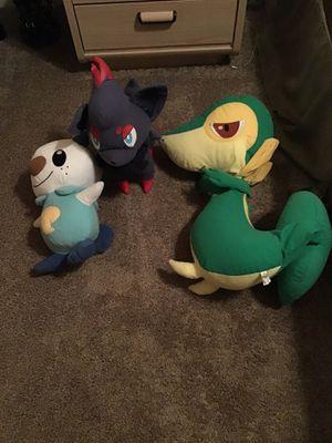 Pokemon stuffed animals for Sale in Macomb, MI