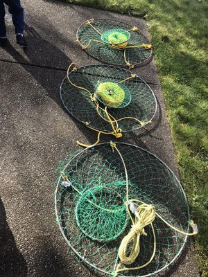 (3) Danielson Crab Net Kit for Sale in Tacoma, WA