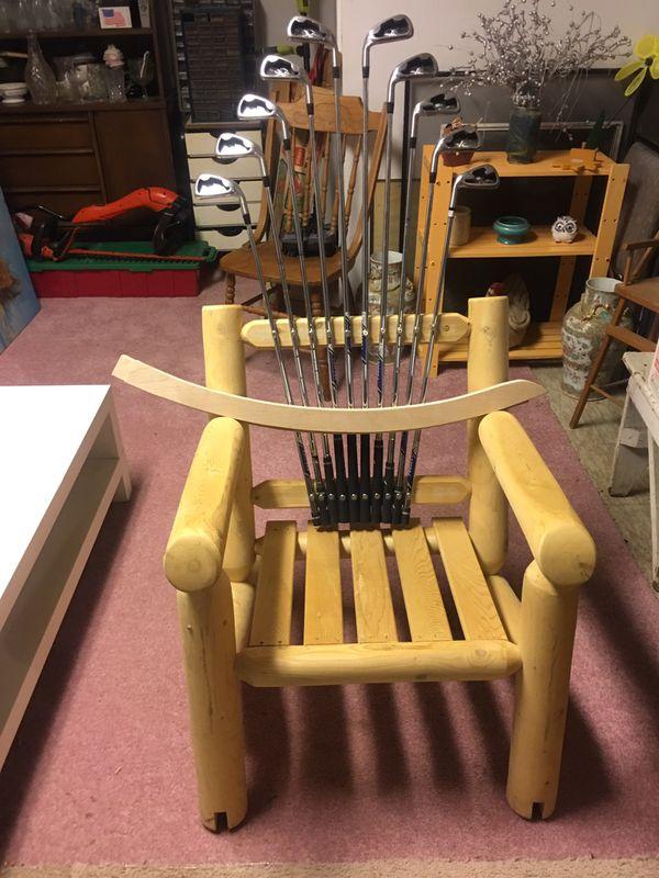Golf Club Rocking Chair