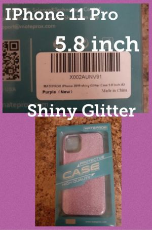 iPhone 11 Pro Case Purple Shiny Glitter for Sale in Phoenix, AZ