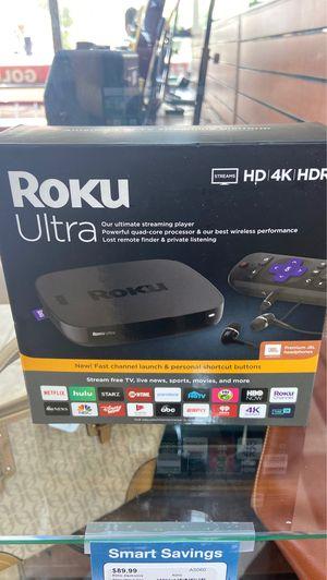 Roku ultra for Sale in Phoenix, AZ