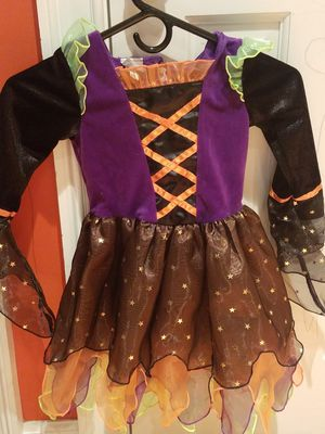 3T GIRL WITCH HALLOWEEN COSTUME for Sale in Fairfax, VA