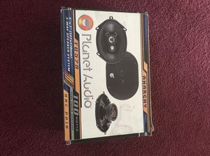 Planet audio car speakers. New in box. for Sale in Raleigh, NC