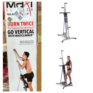 MaxiClimber Total Body Workout - Home Gym Exercise Equipment, Vertical Climber for Sale in Stafford, TX