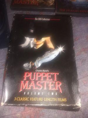 Puppet master box set for Sale in Philadelphia, PA