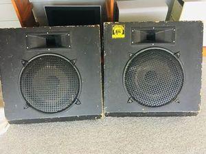 2 Slanted Celestion Floor Speakers for Sale in Austin, TX