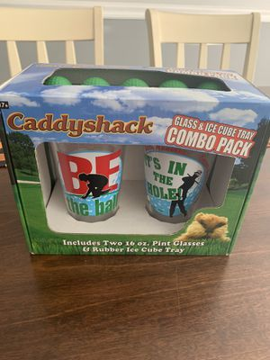 Caddyshack Glass&Tray Combo Set for Sale in Brentwood, NC