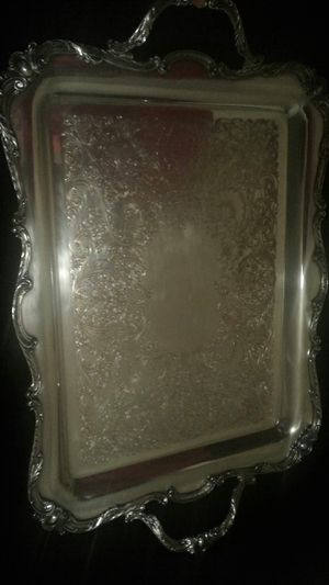 Vintage International Silver Tray for Sale in Greensboro, NC