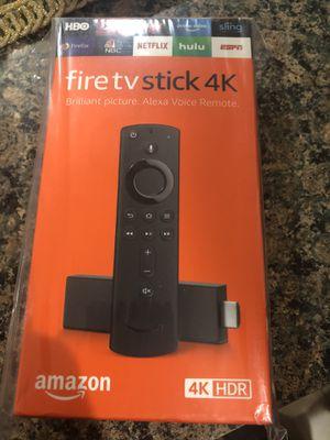 Fire tv stick 4K for Sale in North Attleborough, MA