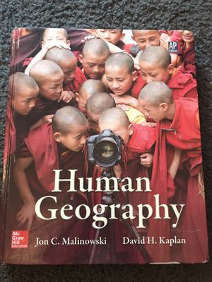 Human Geography Book Mc Graw Hill for Sale in Normal, IL