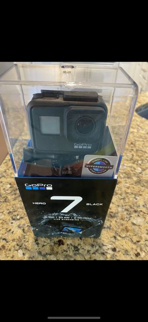 GoPro hero 7 black for Sale in Fresno, CA