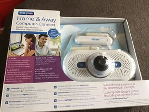 The First Years Home and Away Computer Connect Video Baby Monitor Product Description Turn any PC computer into a video monitor with the Home and Aw for Sale in Bensalem, PA