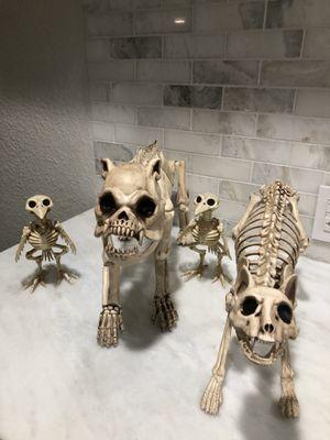 Skeleton animal family Halloween props for Sale in Miami, FL
