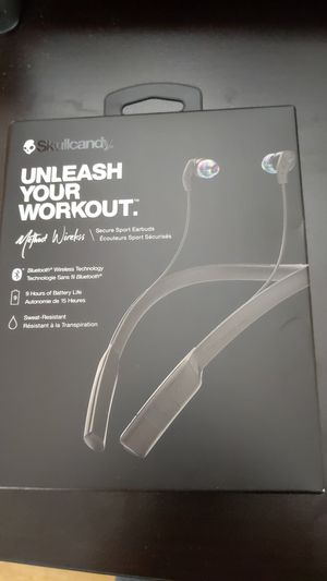 New sealed Skullcandy Method Wireless earbuds for Sale in Renton, WA