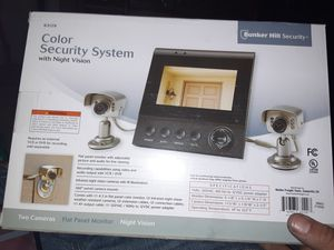 Bunker hill security color security system w/monitor for Sale in Phoenix, AZ