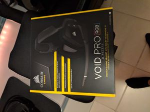 Corsair void pro wireless for Sale in Fort Myers, FL