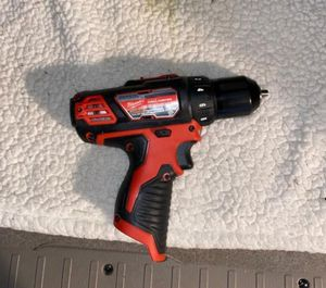 New milwaukee drill 12v tool only for Sale in Houston, TX