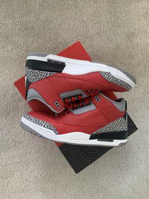 "Air Jordan 3 "" RED CEMENT "" for Sale in Norfolk, VA"