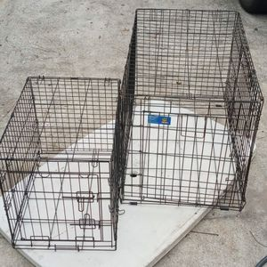 Extra Large And Medium Dog Cages for Sale in Sebring, FL