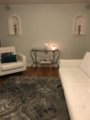 Pier One Imports: Console Glass Table for Sale in Portland, OR